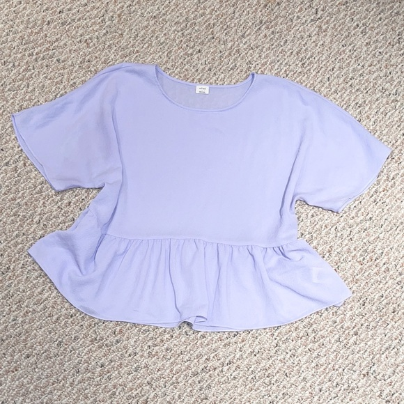 WILFRED flowy tee - lavender color